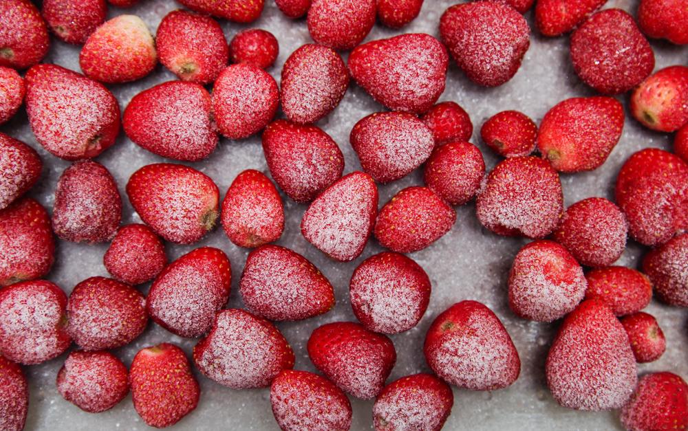erdbeeren-einfrieren