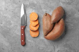 Süßkartoffel schälen – gesunde Schale nur ausnahmsweise entfernen